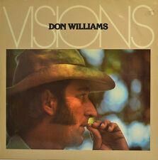 """DON WILLIAMS - VISIONS - LP 12"""" (S128)"""