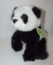 Aurora world Nature babies Plush Panda stuffed animal w/ neck tag