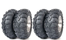 ITP Atv Tires Mud Lite 25x8-12 25x10-12 Front Rear Set of 4 Mudlite 6 Ply