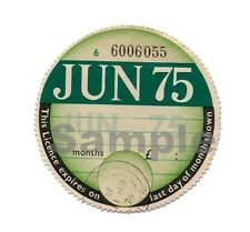 1975 TAX DISC -  PERSONALISED Classic car for Vauxhall MGB Ford  Austin Triumph