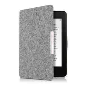 Hülle für Amazon Kindle Paperwhite Filz eReader Case Klapphülle Cover Filztasche