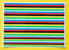 Cycle de vélo de route championnat du monde couleur rayures frame stickers autocollants
