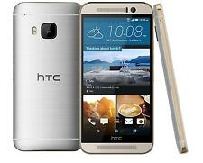 HTC One M9-32GB-GOLD ON SILVER(AT&T-UNLOCKED)GOOD CONDITION-W/WARRANTY!