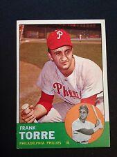 1963 TOPPS # 161 FRANK TORRE - PHILADELPHIA PHILLIES - NM