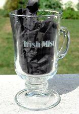 NEW ETCHED IRISH MIST WHISKEY THE ULTIMATE IRISH COFFEE GLASS MUG 4 OZ