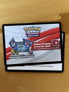 Pokemon TCG Online Code : Top Trainer Box Verborgenes Schicksal - Unbenutzt