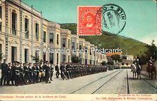 CHILE TALCAHUANO PARADA MILITAR DE LA ARTILLERIA DE COSTA ED. MATTENSOHN & GRIMM