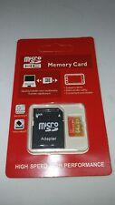 SD 64 Gb Clase 10 Tarjeta  Memoria Memory Card Micro Nuevo Alta velocidad