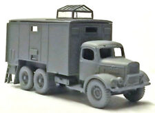 Milicast 1/76 Austin K6 3t 6x4 RAF Airfield Control Caravan Truck UK342