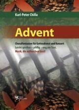 Chilla: ADVENT Spielbuch für Orgel Orgelbuch NEU! (Strube 3367) Weihnachten