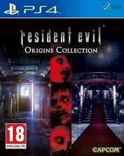 Resident Evil Origins Collection PS4 * NEW SEALED PAL *