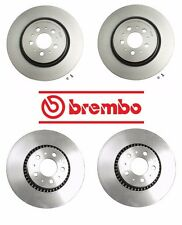 Brand NEW Volvo S60 R 2004-2007 Front 305mm & Rear Disc Brake Rotors Brembo