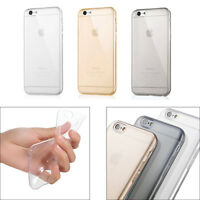 """Ultra Thin Clear Crystal Rubber TPU Soft Case Cover For iPhone 6 6s Plus 5.5"""""""