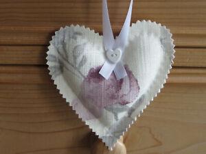 Laura Ashley Grace  Fabric Hanging heart