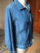 LEVI'S BLOUSON VESTE ENGINEERED JEANS VIEILLI GIRLS LARGE L T 31 LEVIS NEUF RARE