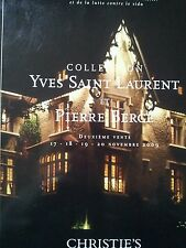 CHRISTIE'S MAGAZINE YVES SAINT LAURENT ET P. BERGE COLLECTION VOL VI FEB. 2009