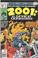2001: A Space Odyssey Comic #4, Marvel 1977 VERY FINE+