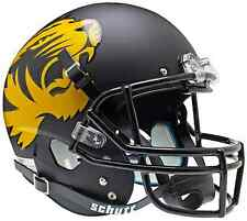 MISSOURI TIGERS Schutt AiR XP Full-Size REPLICA Football Helmet (MATTE BLACK)