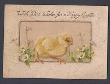 Ca 1904 POST CARD EMBOSSED EASTER GREETING BY TUCK, MINT