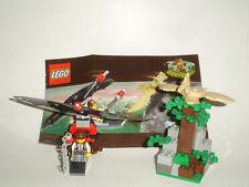 LEGO 5921 ADVENTURERS DINO ISLAND RESEARCH GLIDER BIRD PTERANODON MINIFIG