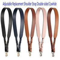 Wide Adjustable Replacement Shoulder Strap Cowhide Lady Bag Crossbody Handbag