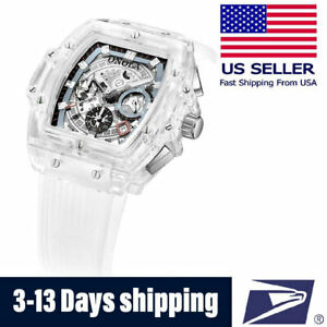 Men's Watch Automatic Movement Swiss Made Richard Mille Tourbillon Homage ONOLA