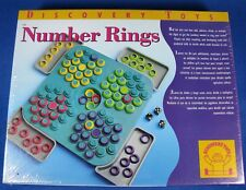 New Discovery Toys Number Rings NIP Sealed
