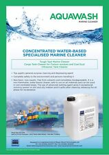 Aquawash Alkaline Degreaser - boat surfaces & bilge all-in-one 25 Litre Poly