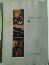 BMW Boxer Classic Motorcycle brochure Sep 1994 German text