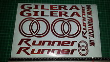 Gilera Runner Decals/Stickers EXCLUSIVE RUST / RUSTY DESIGN sp vx fx vxr 125 172