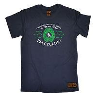 May Look Like Im Listening MENS RLTW T-SHIRT tee cycling cycle bicycle birthday