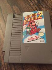Super Mario Bros 2 Original Nintendo NES Fun Great Game Cart NE3