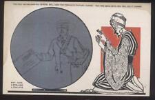 Postcard YOGI-SWAMI METAMORPHIC CRYSTAL BALL FORTUNE TELLING CARD #5 1929