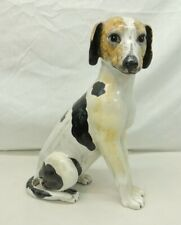 "New ListingSo Cute! Wippet Italian Greyhound Statue Figure 13"" Made In Italy Jack Russell"