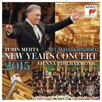 Mehta Zubin  - Neujahrskonzert / New Year's Concert 2015 [New & Sealed] 2 CDs