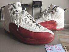 OG Air Jordan 12 XII Original 1997 White Varsity Red Black Size 13