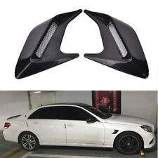 1 Pair Car Side Air Flow Vent Hole Cover Fender Intake Grille Decoration Sticker