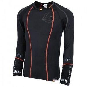 New Shock Doctor Men's Core Hockey Compression Hockey Shirt w/ Sleeve Lock #369