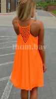 Women Boho Maxi Sleeveless Sundress Ladies Summer Beach Evening Party Dress