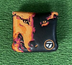 RARE TaylorMade Vault Spider X Big Bad Wolff Mallet Putter Headcover VERY GOOD