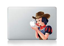 "Snow White Princess cowgirl Sticker Decal Skin Cover Macbook Air/Pro/Retina 13"""