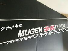 Mugen Windshield Sun Visor Strip Windshield Decals Cars Stickers Honda Acura