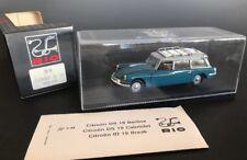 Rio Models #99 CITROEN ID19 Break 1958 Blue Roof Rack Collectible Car w/Orig Box