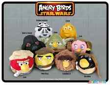 Original set of Star Wars Angry Birds plush toys - set of 9