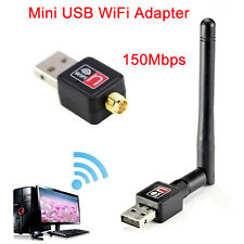 150Mbps Wireless WLAN WiFi Stick Adapter Dongle Karte USB N 802.11n/g/b
