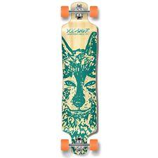 Yocaher Lowrider Longboard Complete - Spirit Animal WOLF