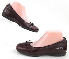 *New!* ECCO Cosmic Ballerina Flats Merlot Crinkle Patent EU 37 / US 6-6.5