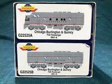 Athearn Genesis Chicago Burlington & Quincy CB&Q  F3A/B Pass Set Discontinued