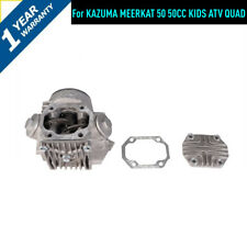 COMPLETE CYLINDER HEAD ASSEMBLY FOR KAZUMA MEERKAT 50cc KIDS ATV QUAD