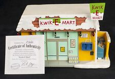 Simpsons Hawthorne Village Christmas Kwik E Mart COA